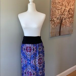Beautiful boho maxi skirt